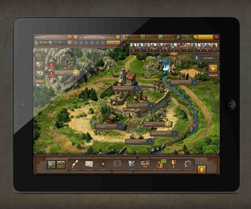 Tribal Wars 2 iPad