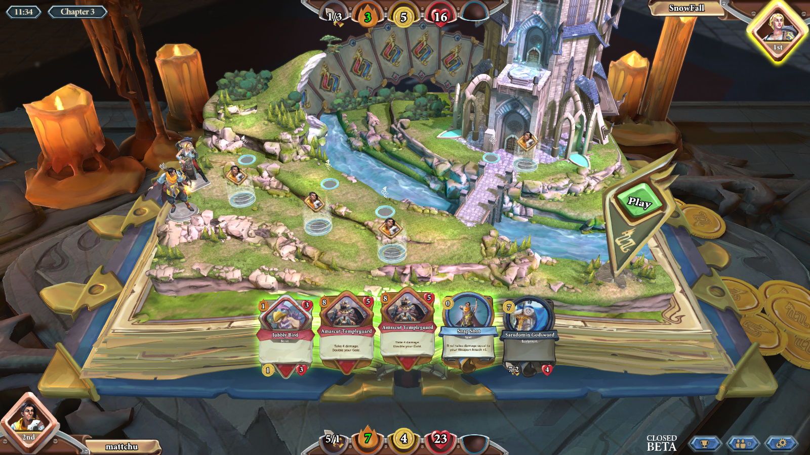 runescape chronicle 4 cards rules